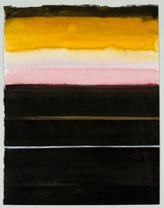 Malin Persson Love, Glory and Lust, 2007 watercolor, gesso, ink on paper 40 x 30 cm