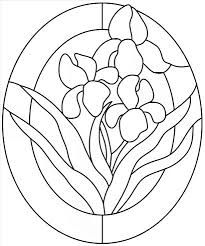 Image result for oval stained glass patterns