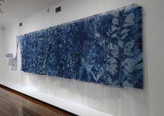 The Nature of Blue Cyanotypes Sun Prints, Alternative Photography, Ceramic Artists, Cyanotype, Colour Board, Art Object, Fiber Art, Art Gallery, Nature