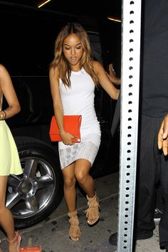 Karrueche Tran celebrates Chris Brown's freedom at Tru Hollywood - Part 2 **NO Australia, New Zealand**
