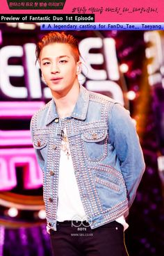 Taeyang on SBS Fantastic Duo