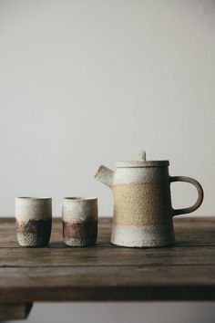 Embracing the concept of 'Wabi-Sabi' this beautiful ceramic teapot is hand thrown on the potters wheel in northern England.
