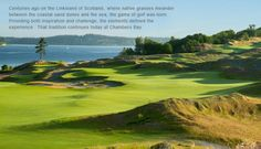 Chambers Bay, site of the 2015 U.S. Open.  Only 45 minutes from the hotel.