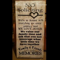 No soliciting sign                                                                                                                                                     More
