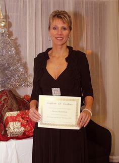 Deenie Robertson Owner of Activation Health Coaching is awarded our Certificate of Excellence for Outstanding Online Networking & Marketing in 2012!