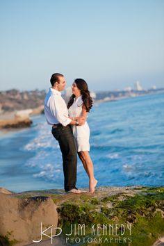 Bel Air Bay Club engagement photos | LA Los Angeles beach engagement | Jim Kennedy Photographers