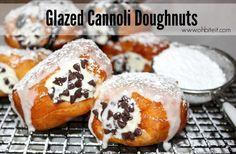 Brace Yourself For Glazed Cannoli Doughnuts