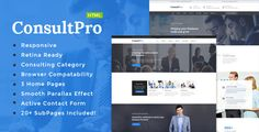 Download Nulled ConsultPro : Consultancy HTML Template For Free