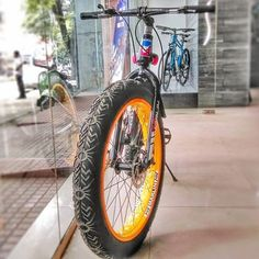 #fatbike in Bangalore. The city is adopting biking at a great pace.