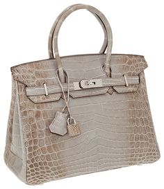 Birkins! Would never buy it but soo pretty to look at!