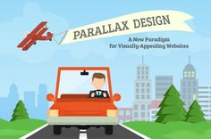 Things to Consider When Designing a Parallax Website #ParallaxDesign #Webdesign