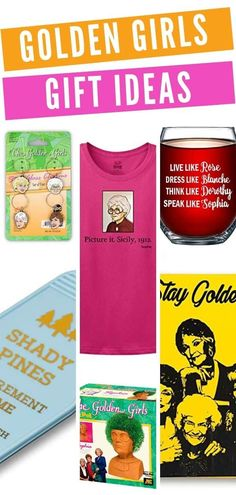 Golden Girls Gift Ideas - Gifts for Golden Girls Fans #giftguide #goldengirls #staygolden