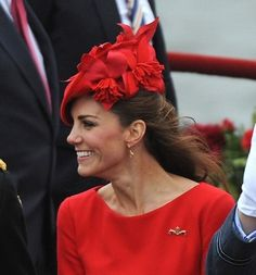 Kate Middleton's hat hairstyle