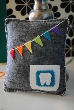 Tooth Fairy Pillow - can't believe that loose teeth are just ~ a year away!