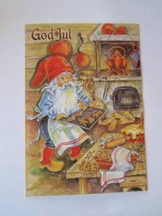 ˇˇ Norwegian Christmas, Woodland Christmas, Scandinavian Christmas, Christmas Photos, Christmas Cards, Elves And Fairies, Mythological Creatures, Photo Postcards, Faeries