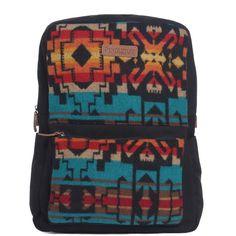 PENDLETON Turquoise CAVE CREEK WOOLEN COMPUTER Backpack Bag