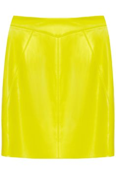 Leather pencil skirt by Jason Wu