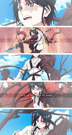 Ren Hakuryuu Magi 3, Sinbad Magi, Otaku Anime, Manga Anime, Manga Magi, Hakuryuu Ren, The Kingdom Of Magic, Anime Japan, Arabian Nights