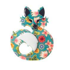 Foxy brooch by erst wilder