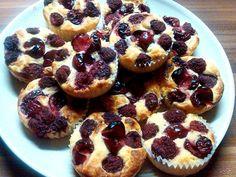 Málnás meggyes muffin (paleo muffin) ~ Éhezésmentes Karcsúság Szafival