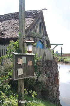 Another view of Sandyman's Mill on the Hobbiton Movie set.