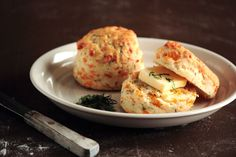 cheddar dill biscuits • the pastry affair