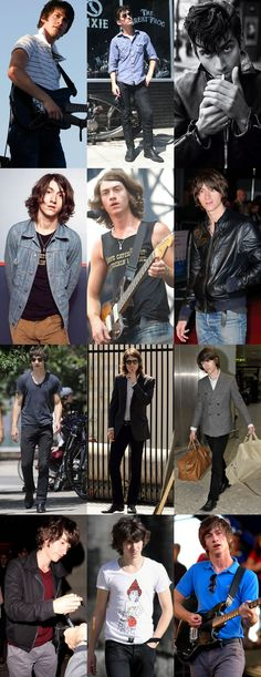 Alex Turner Look Book