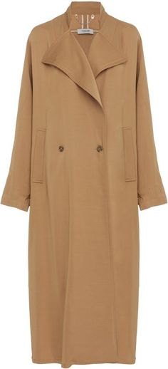 Love this coat!  Rachel Comey Oversized Trench Coat, fall and winter #fashion.