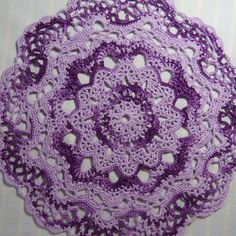 Lavender Doily-10.5 inch Doily-Shades of Purple #Doily