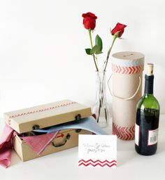 wine box valentine's day