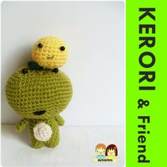 """Kerori & Friend  Free pattern ( PDF """"download now"""")"""