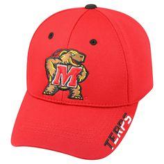 NCAA Baseball Hats Maryland Terrapins Red, Men's