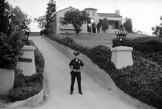 Home of Leno & Rosemary LaBianca - killed by the Manson family
