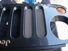 How to - mesh grill mod, functional and looks really great! Jeep Wrangler Forum