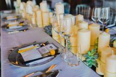 Table decor. Monaco wedding