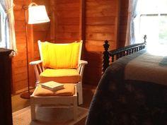 Bedroom #2.  Bureau, closet and a quiet reading spot.