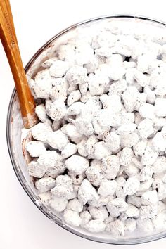 "Everyone will love this Puppy Chow (""Muddy Buddies"") recipe! Perfect recipe for this fun, easy, and delicious snack!"