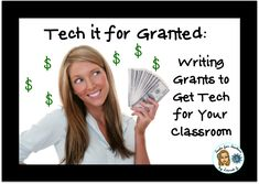 The ESOL Odyssey: Tech it for Granted: Getting Started Grants For School, Grants For Teachers, Education Grants, Grants For College, Teacher Resources, Teaching Ideas, Teaching Computers, Teaching Technology, Educational Technology