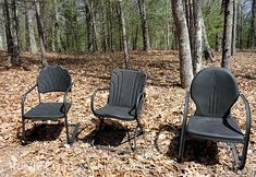 Wow!  Love these old chairs and the makeover is outstanding!  <3