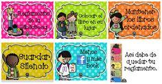 Reglamento de la Biblioteca de aula en tarjetas imprimibles listas para descargar