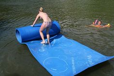 WaterMat Allows Walking, Jumping, Sliding Over Water!