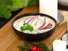 Krämig pepparrotssill med öl och lime Frisk, Christmas Traditions, Scones, Tapas, Panna Cotta, Seafood, Food And Drink, Ethnic Recipes, Dulce De Leche