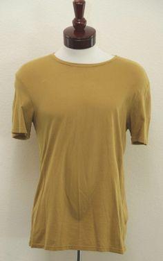 Vince Short Sleeve T-shirt Yellow M Men's $9.99