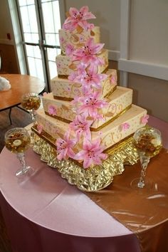 A quince cake fit for a queen!