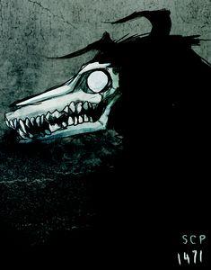 1471 by parenthesisgrey Scp 066, Goth Humor, Demon Dog, Monster Boy, Satanic Art, Scary Art, Mythological Creatures, Creepypasta, Character Design