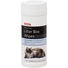 Petco Heavy Duty Litter Box Wipes