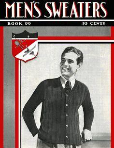 Men's Sweaters | Book No. 99 | The Spool Cotton Company