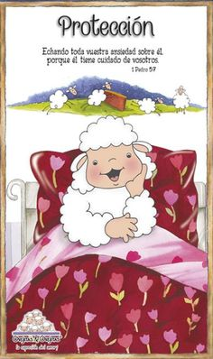 Holly Bible, Cute Sheep, Bible Notes, Sheep And Lamb, Prayer Verses, Bible For Kids, Jesus Loves Me, God Is Good, Precious Moments