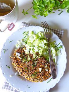 Je suis particulièrement fan de ces galettes de quinoa, vite préparées, vite réchauffées pour manger sur le pouce.