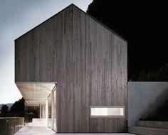 Architecture in the Bregenz Forest in Vorarlberg, Austria